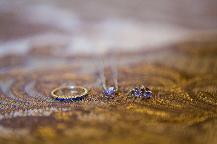 Florida brides something blue times three