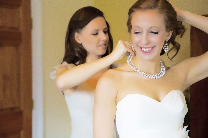 Florida wedding romantic pink ivory bouquet