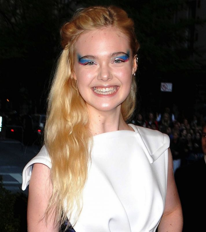 Elle Fanning at Met Ball