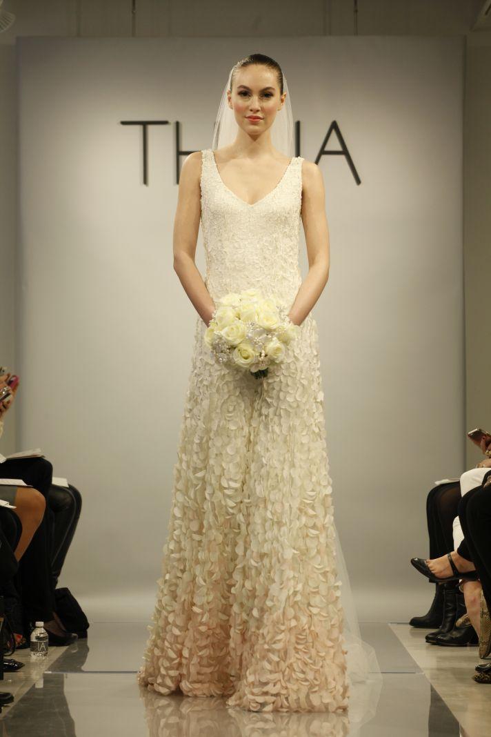 Theia Spring2014 wedding dress bridal gown Emma