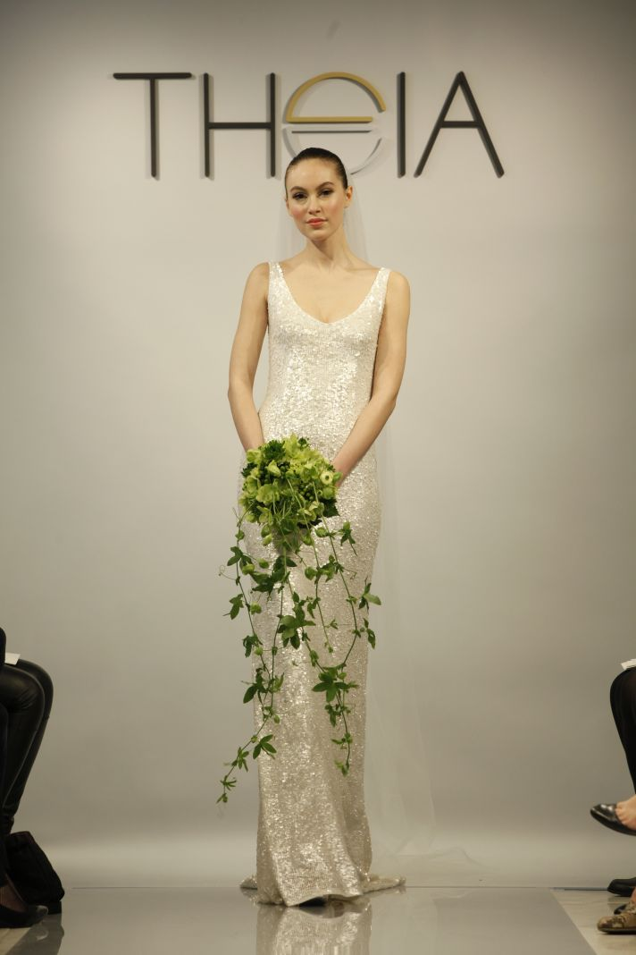 Dorable Theia Harlow Sequin Gown Mold - Images for wedding gown ...