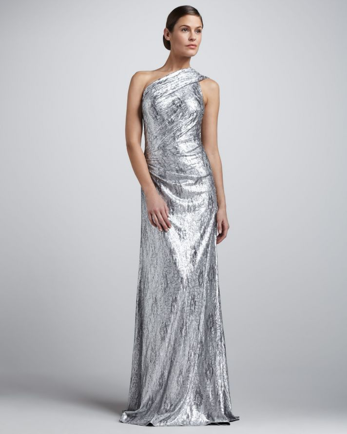15 sparkly dresses for wedding guests onewed for One shoulder dress for wedding guest