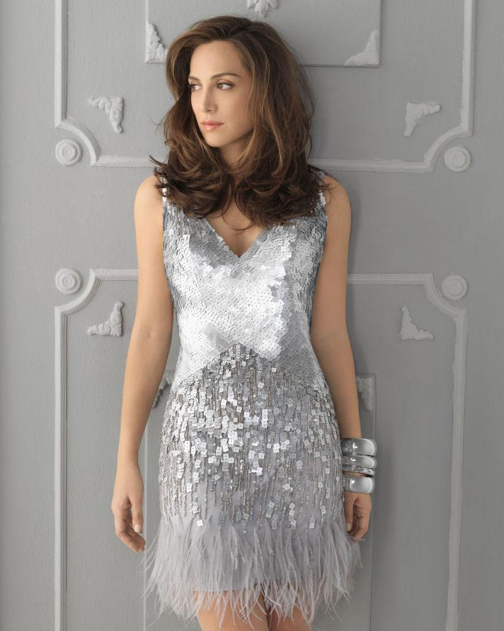 15 sparkly dresses for wedding guests onewed