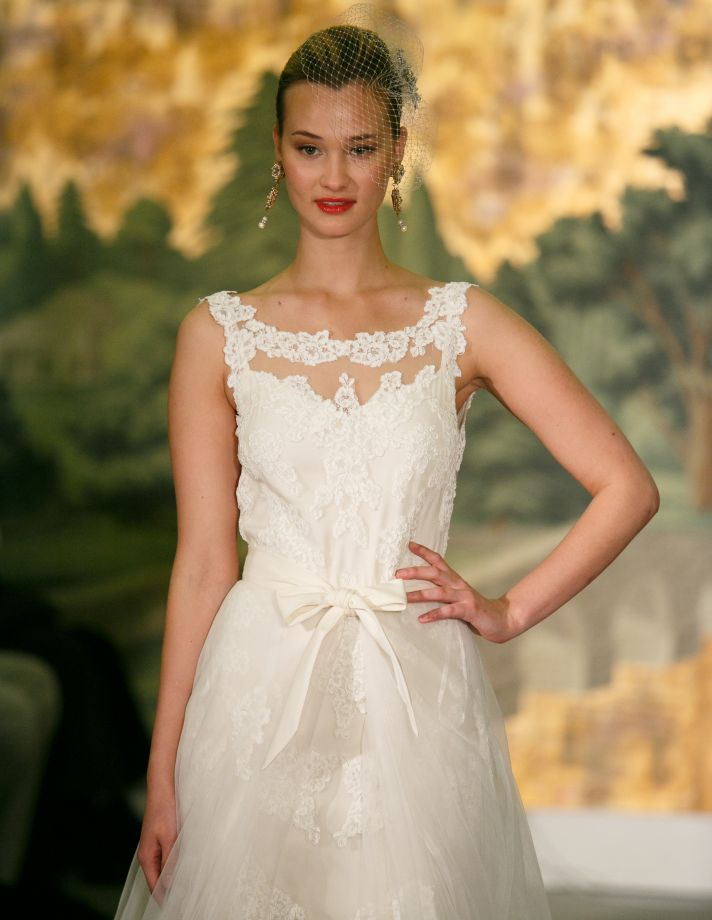Wedding dress by Anne Barge Spring 2014 Bridal