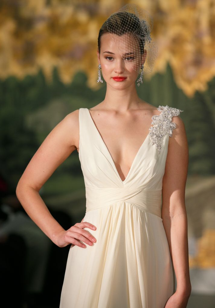 Wedding dress by Anne Barge Spring 2014 Bridal Osmonde