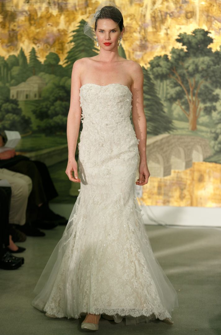 Wedding dress by Anne Barge Spring 2014 Bridal Coriandre