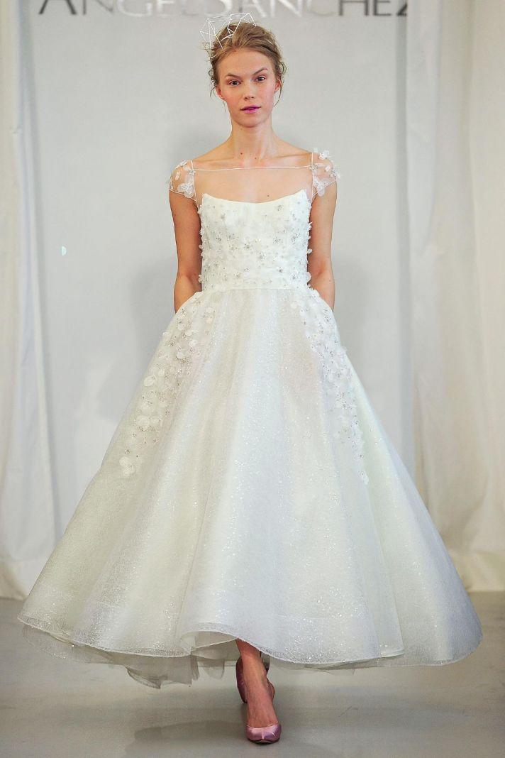 Angel Sanchez wedding dress Spring 2014 Bridal 10