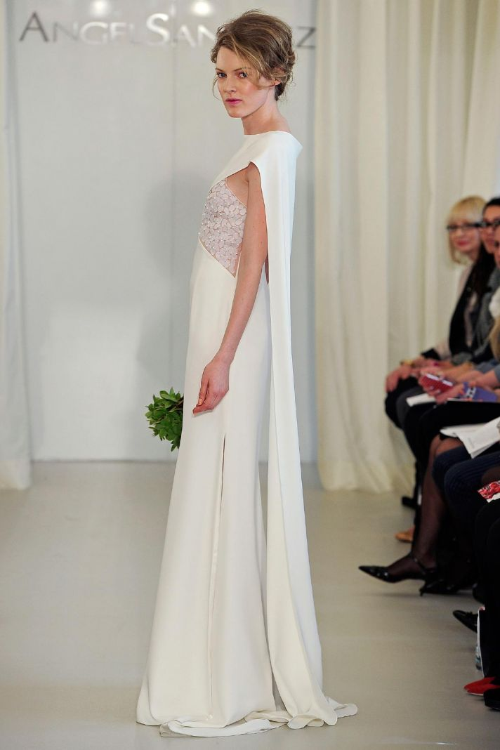 Angel Sanchez wedding dress Spring 2014 Bridal 15