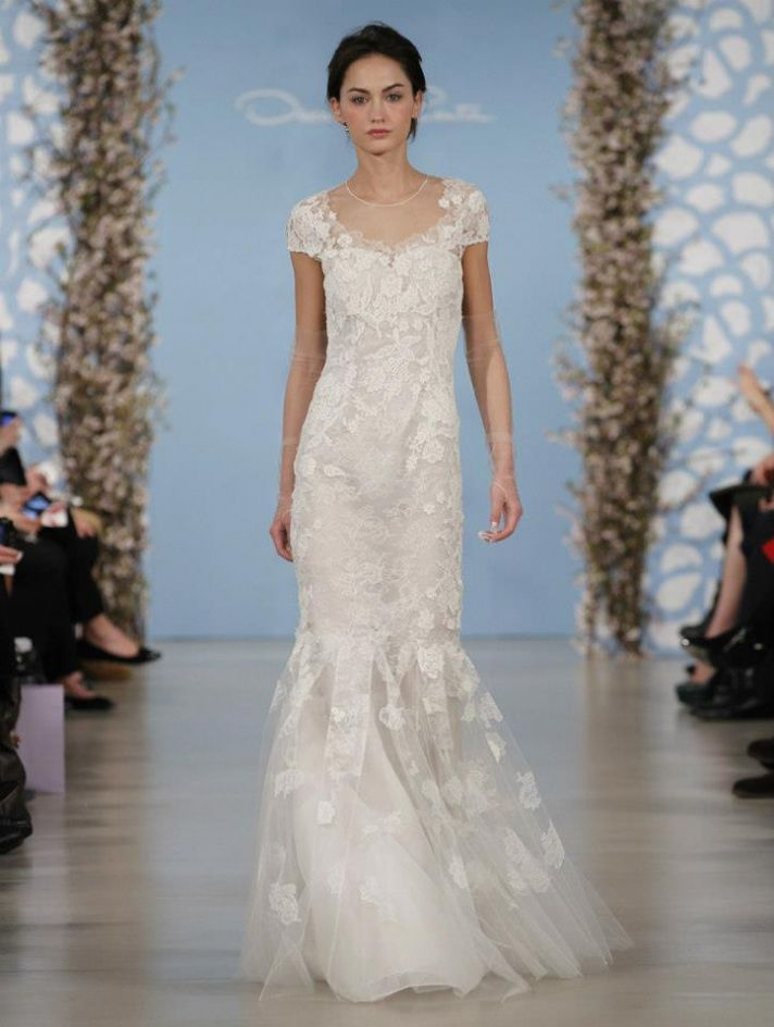 Wedding Dress by Oscar de la Renta Spring 2014 Bridal 15