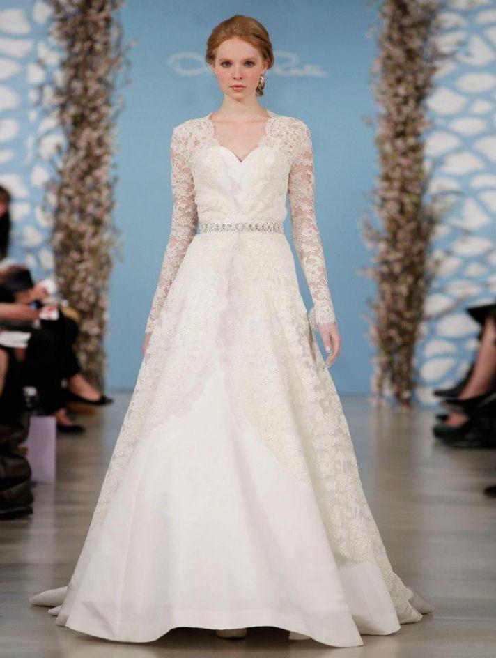 Wedding Dress by Oscar de la Renta Spring 2014 Bridal 14