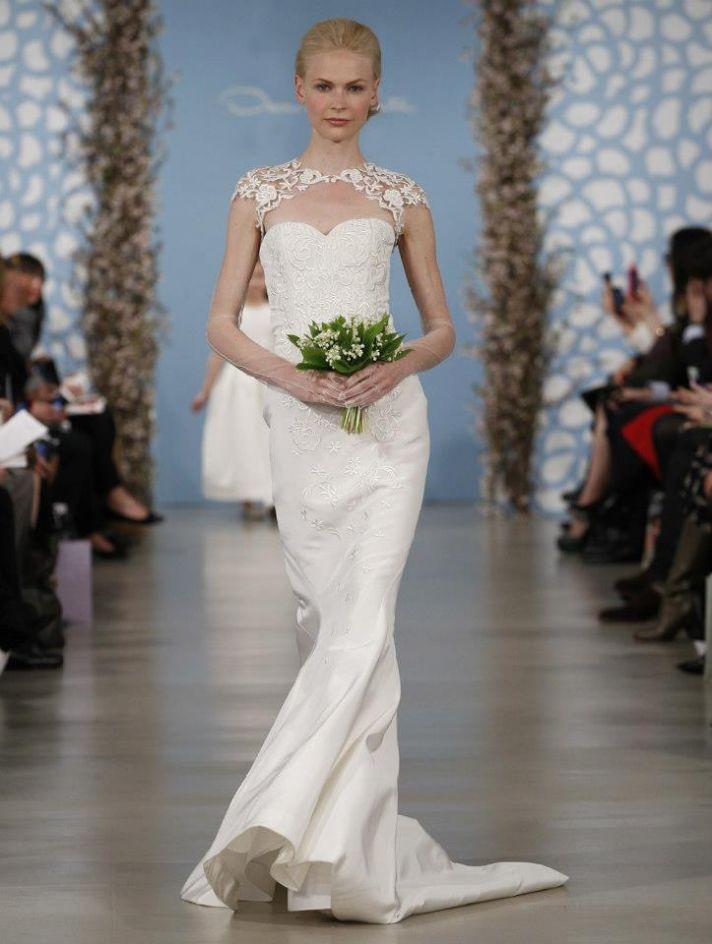 Wedding Dress by Oscar de la Renta Spring 2014 Bridal 11