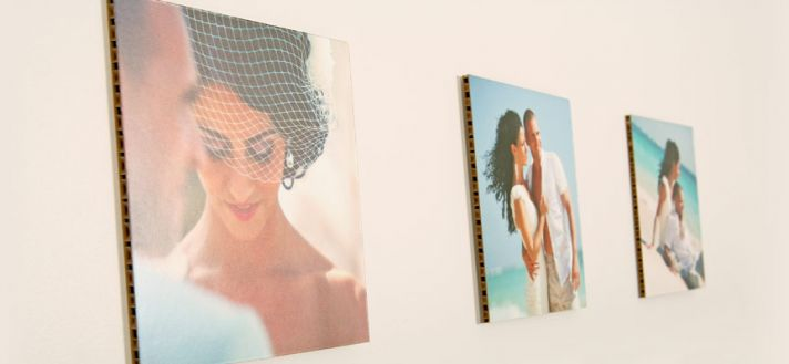 Eco friendly wedding gifts printed instagrams