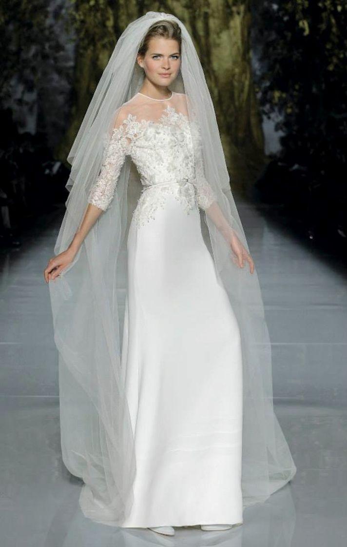 Elie Saab Wedding Dress 2014 Pronovias Bridal 3