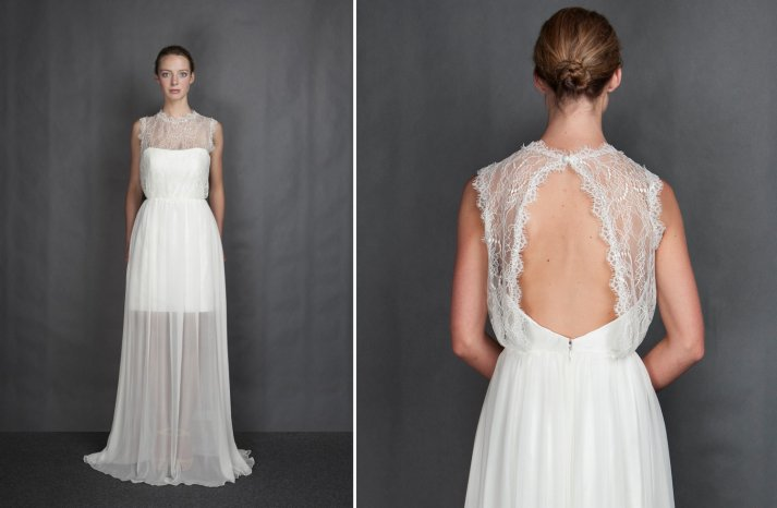 Heidi Elnora wedding dress Spring 2014 Bridal Cassie Vann