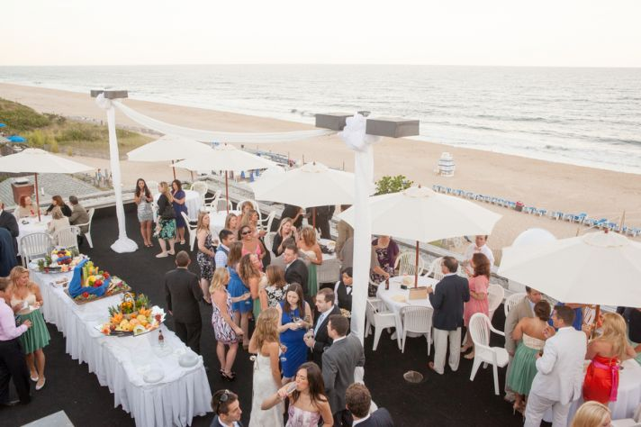 Real Wedding Beach Throo Williams Photography by Verdi Green Reception Venue