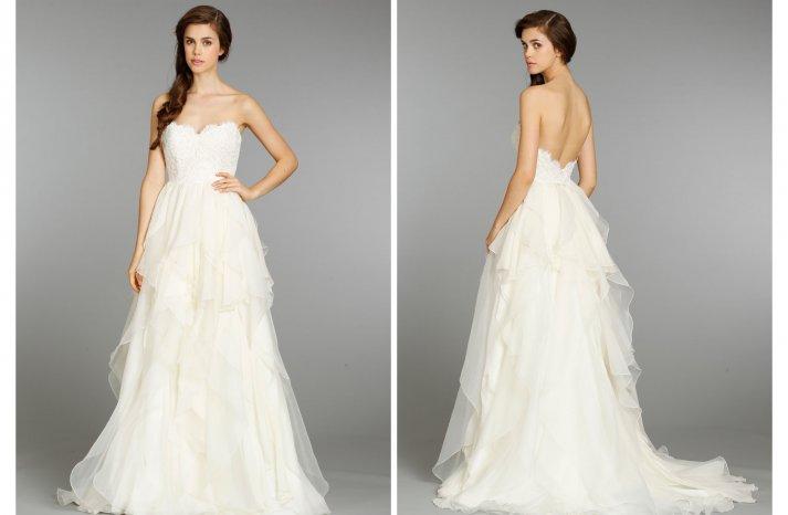 Hayley Paige wedding dress Fall 2013 Bridal 6353 2