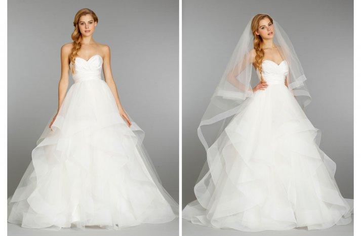 Hayley Paige wedding dress Fall 2013 Bridal 6358