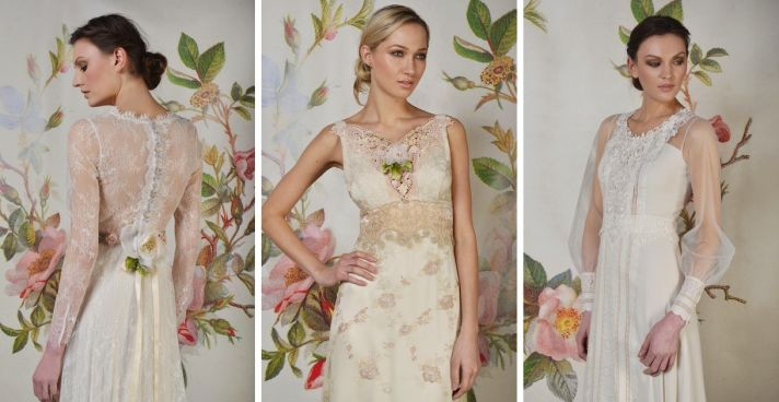 9 New Beyond Romantic Wedding Dresses From Claire Pettibone