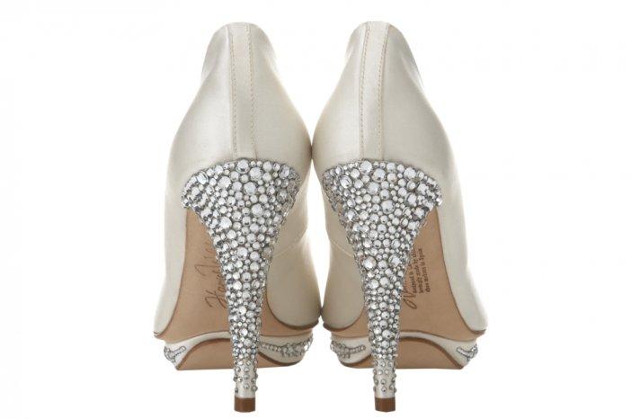 Wedding shoes by Harriett Wilde bridal heels Bridgett