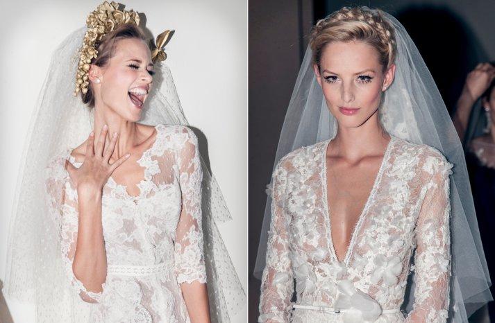 Pronovias bridal 2014 wedding dresses lace