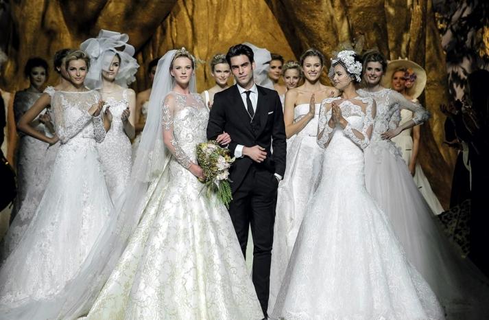 Pronovias Brides Spring 2014 wedding dress collection presentation