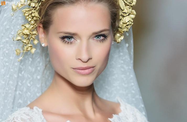 Pronovias bridal wedding makeup inspiration 2014 catwalk 8