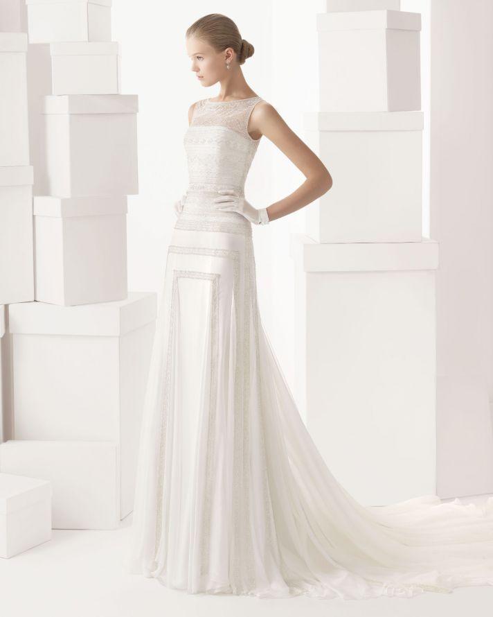 Rosa Clara wedding dress 2014 bridal Cintia