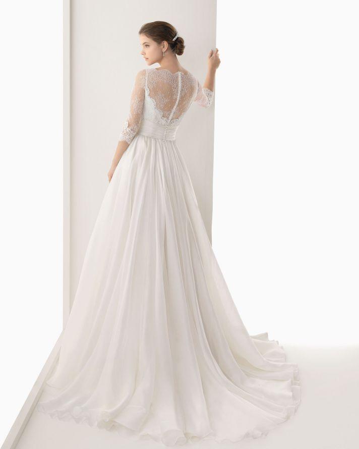 vestido de novia rosa clara 119