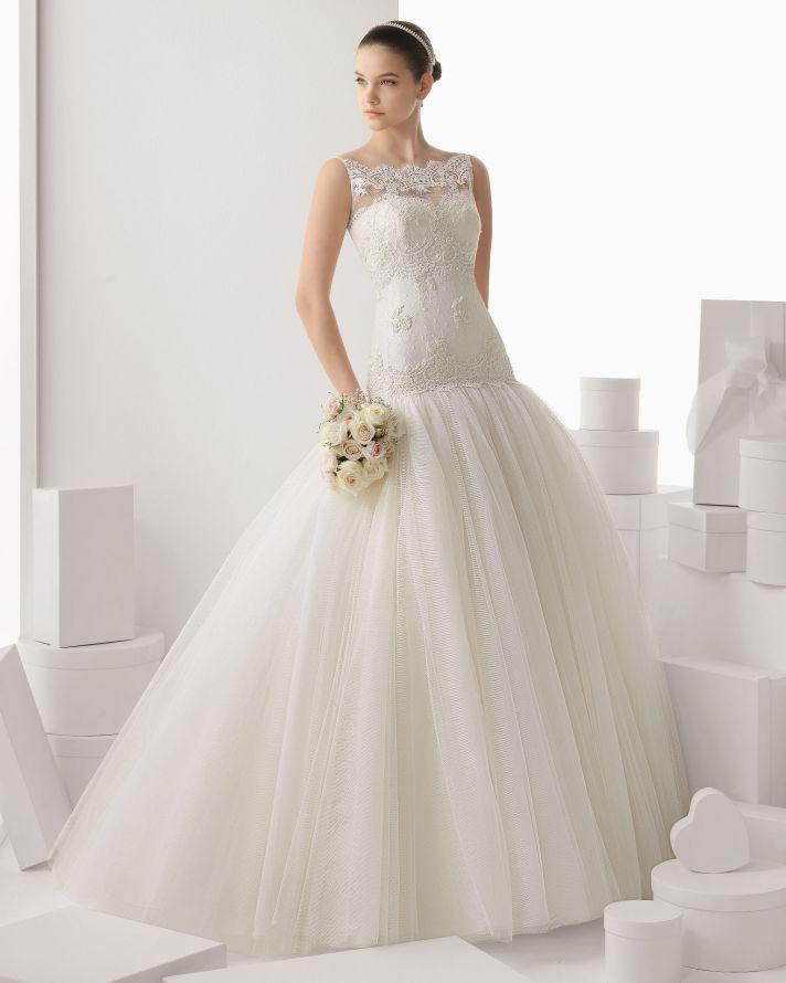 Rosa Clara wedding dress 2014 bridal Calella