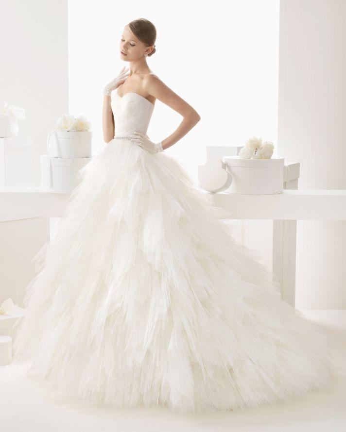 Rosa Clara wedding dress 2014 bridal Castilla