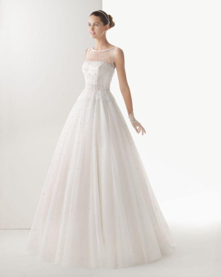 Rosa Clara wedding dress 2014 bridal Cometa