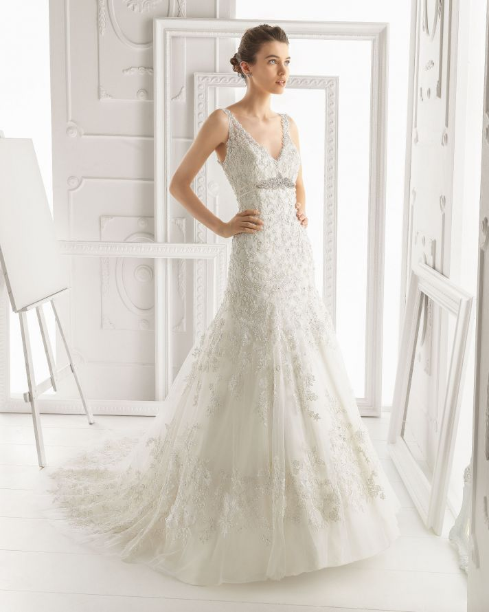 Aire Barcelona wedding dress 2014 Bridal Olivia