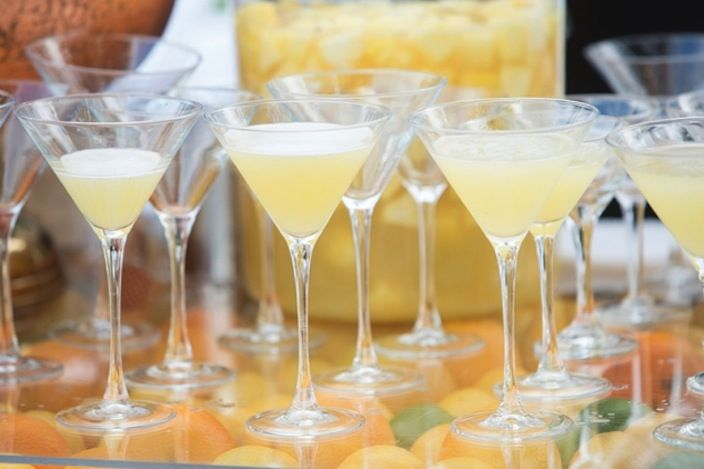 Summer Weddings Signature Drinks the Southern Bride