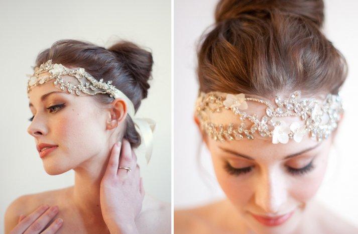 Stunning wedding veils and headpieces by Serephine 1