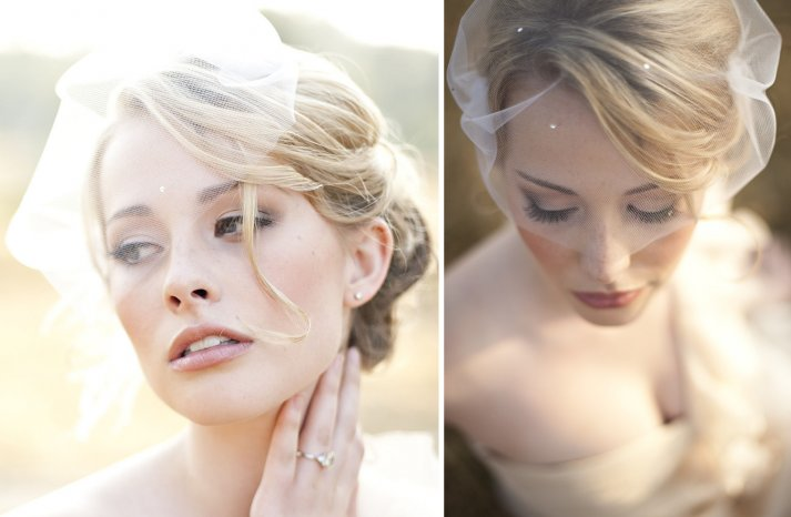 Stunning wedding veils and headpieces by Serephine 6
