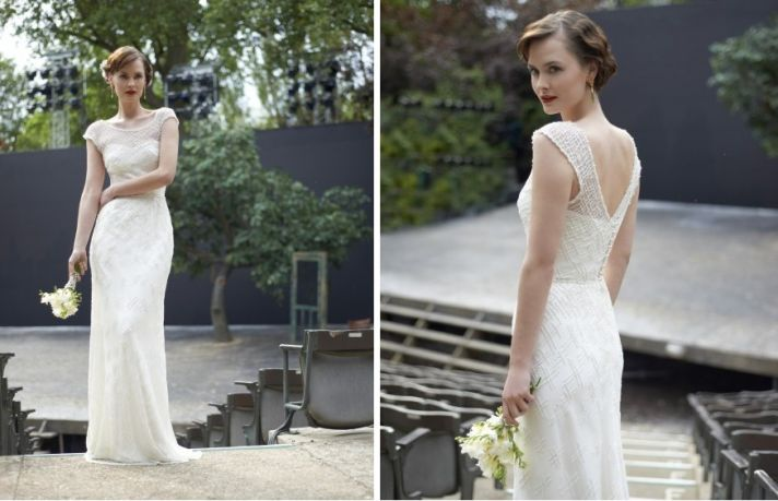 2014 wedding dress Stephanie Allin bridal Annie