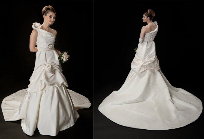Custom wedding dress by Anna Neiman Allison