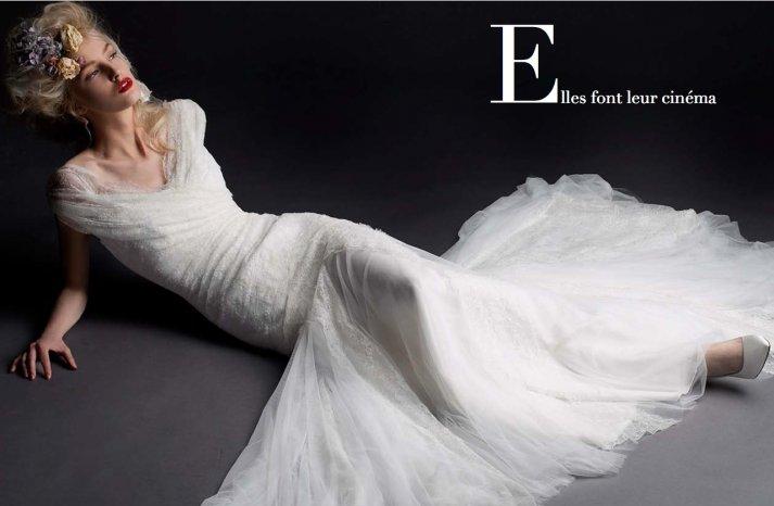 Cymbeline Paris wedding dress 2014 bridal preview lookbook