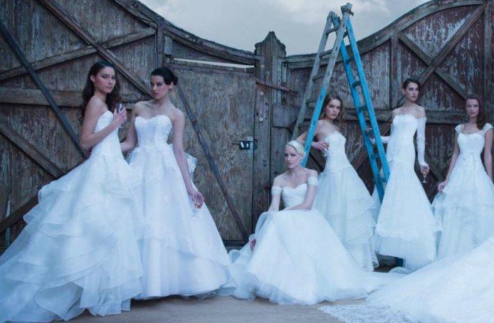 Cymbeline Paris wedding dress 2014 bridal preview lookbook 5