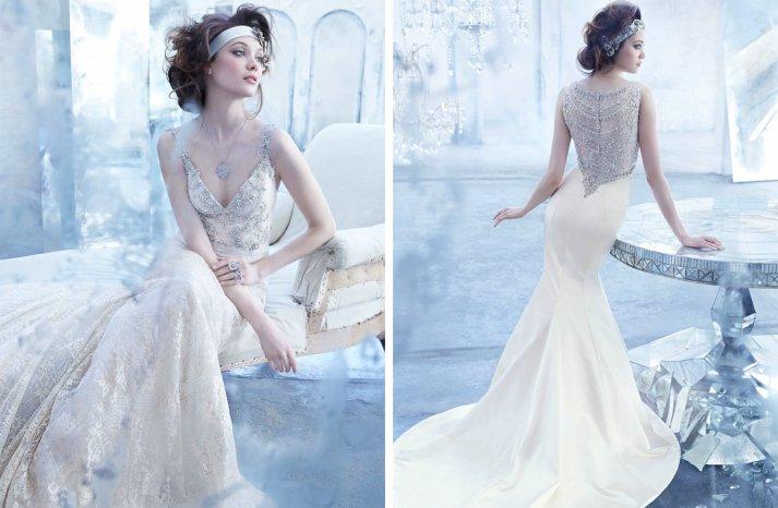Lazaro wedding dresses Fall 2013 Bridal elegant beading