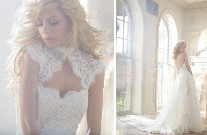 Hayley Paige wedding dress Fall 2013 Bridal 1