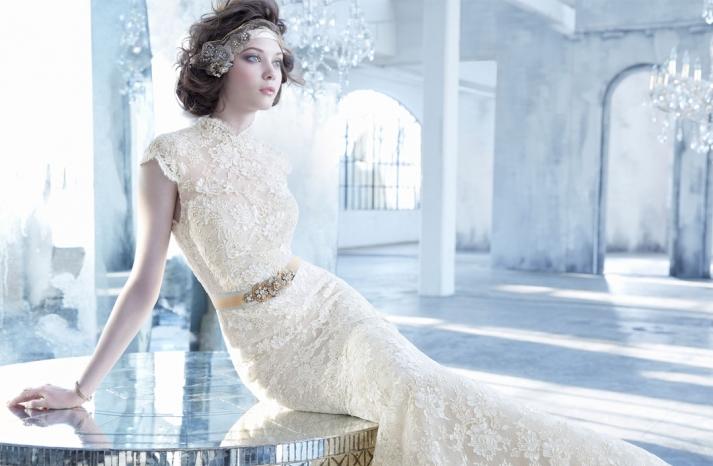 Lazaro wedding dress fall 2013 bridal lz3352