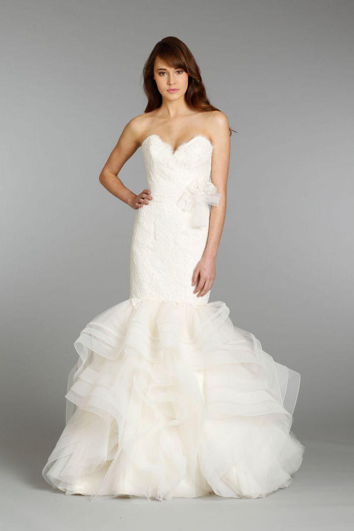 Alvina Valenta wedding dress Fall 2013 Bridal 9350