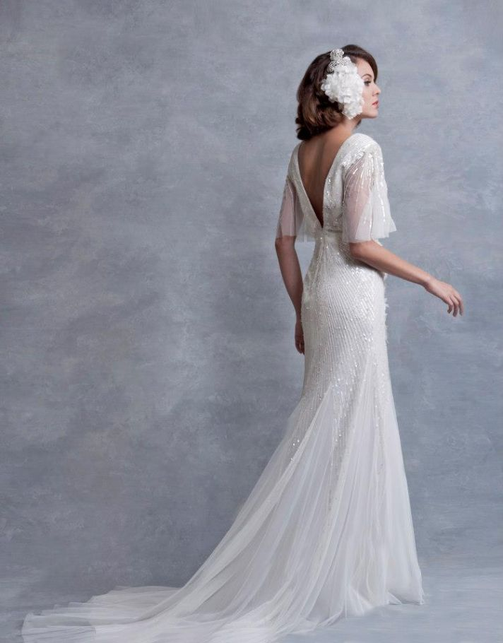 wedding dress inspired by the 1930s Eliza Jane Howell bridal 3