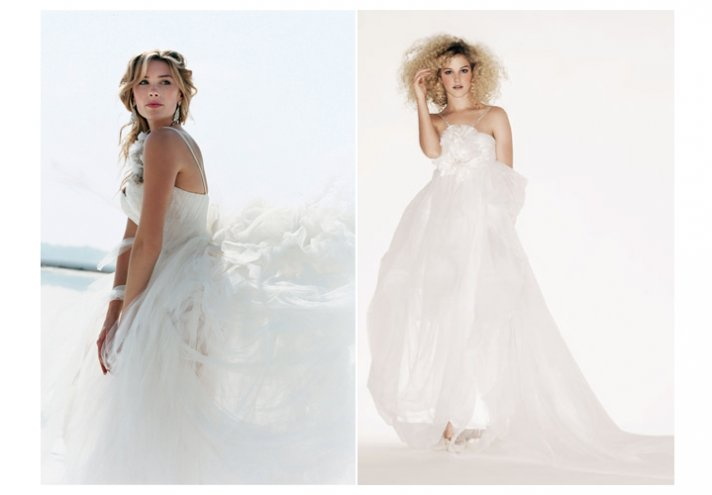 Elizabeth Emmanuel wedding dresses