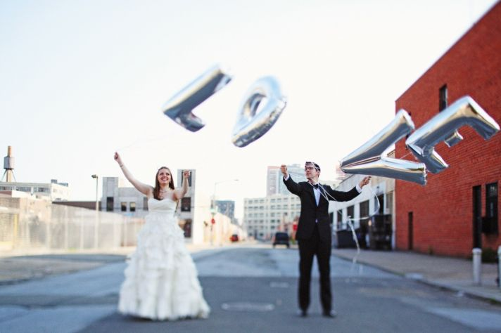 incredible wedding photography by Max Wanger Love balloons