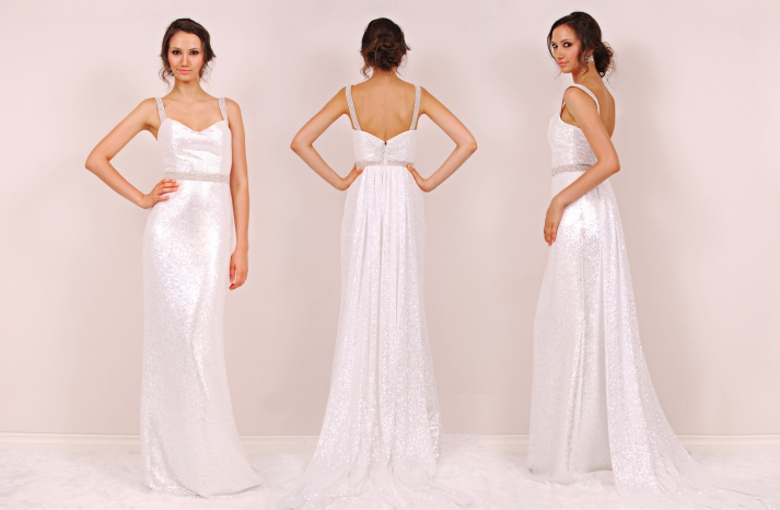 Chelsea wedding dress by Sunjin Lee 2014 bridal