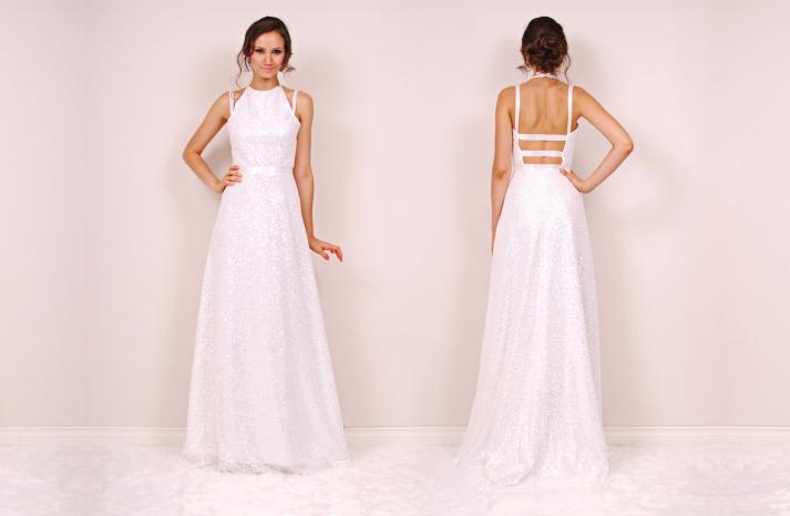 Park wedding dress by Sunjin Lee 2014 bridal