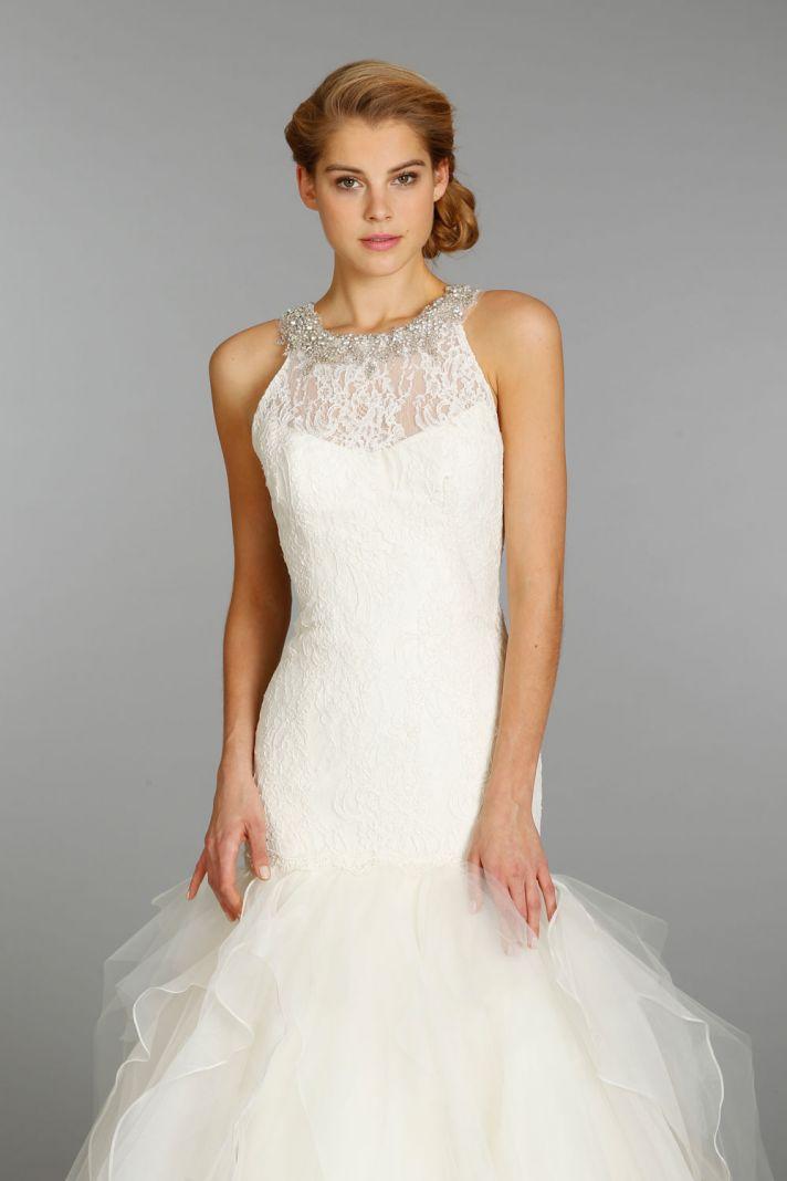 Jim Hjelm wedding dress fall 2013 bridal 8350
