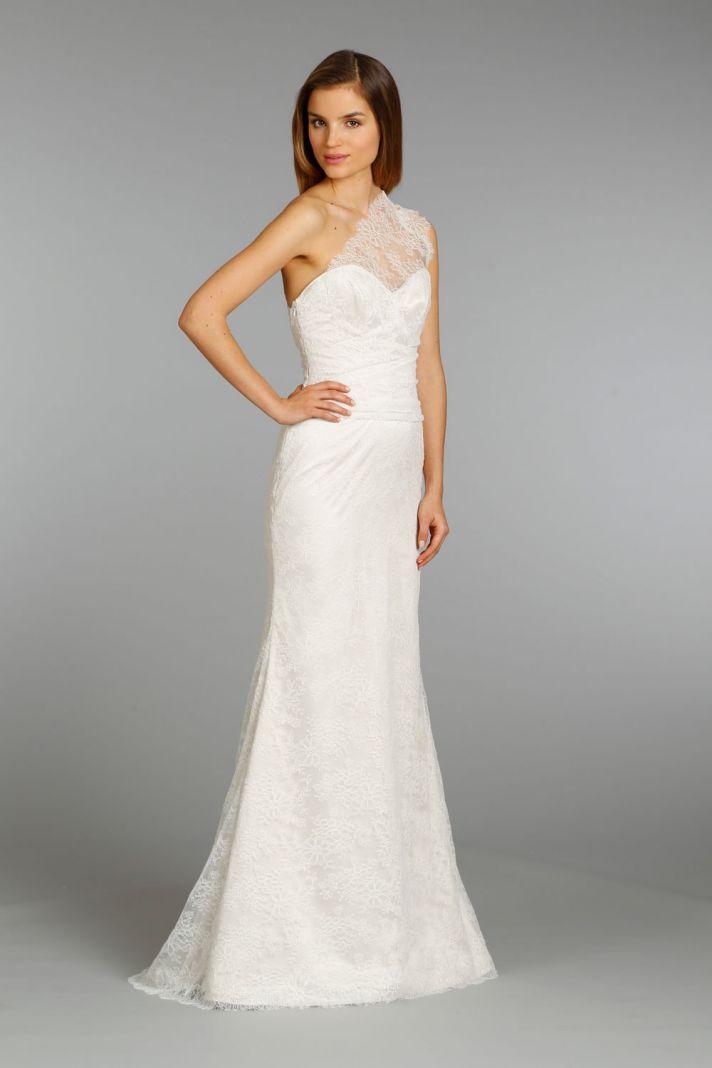 Jim Hjelm wedding dress fall 2013 bridal 8357